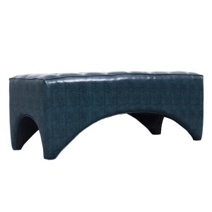 Magnussen HomeAccent Cocktail Ottoman