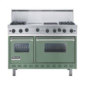 """Mint Julep 48"""" Open Burner Range - VGIC (48"""" wide, four burners 12"""" wide griddle/simmer plate 12"""" wide char-grill)"""
