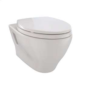 Aquia® Wall-Hung Dual-Flush Toilet, 1.6 GPF & 0.9 GPF, Elongated Bowl Less CeFiONtect - Sedona Beige