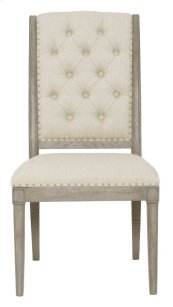 Marquesa Side Chair in Marquesa Gray Cashmere (359)