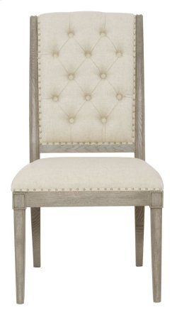 Marquesa Side Chair in Marquesa Gray Cashmere (359)
