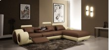 Divani Casa 4085 - Modern Leather Sectional Sofa