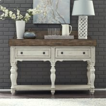 Butcher Block Sideboard