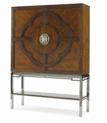 Lotus Bar Cabinet
