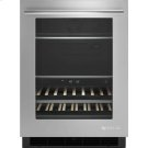 """24"""" Under Counter Beverage Center, Euro-Style Stainless Product Image"""