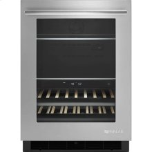 """24"""" Under Counter Beverage Center, Euro-Style Stainless"""