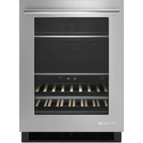 "24"" Under Counter Beverage Center, Euro-Style Stainless"