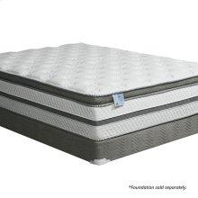"Queen-Size Siddalee 16"" Euro Pillow Top 2.5"" Gel Infused Memory Foam"
