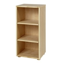 Low Narrow Bookcase : Natural