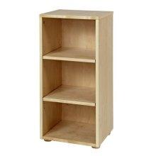 Low Narrow Bookcase : Natural