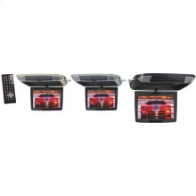 "11.2"" Widescreen Ceiling-Mount Monitor with DVD Player, IR Transmitter & Interchangeable Skins"