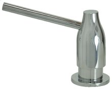 Soap/Lotion Dispenser - Tapered with Straight Spout - Polished Chrome