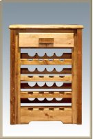 Homestead Wine Cabinet - Stained and Lacquered Product Image