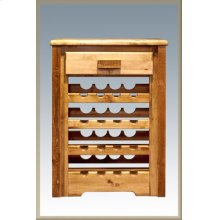 Homestead Wine Cabinet - Stained and Lacquered