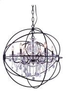 1130 Geneva Collection Pendent Lamp Dark Bronze Finish Product Image