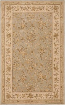 Hard To Find Sizes Newport Nw01 Mist Rectangle Rug 3'10'' X 6'2''