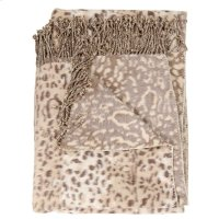 "Throw Sz014 Beige 50"" X 70"" Throw Blankets Product Image"