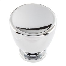 Conga Knob 1 1/8 inch - Polished Chrome