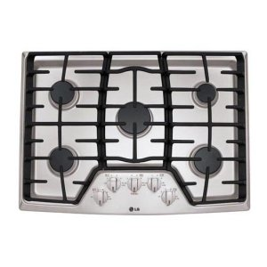"LG Appliances30"" Gas Cooktop with SuperBoil"