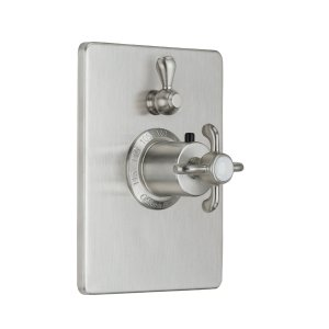Humboldt Styletherm (R) Trim Only With Single Volume Control - Satin Chrome