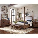Madeleine Rustic Smoky Acacia Queen Five-piece Set Product Image