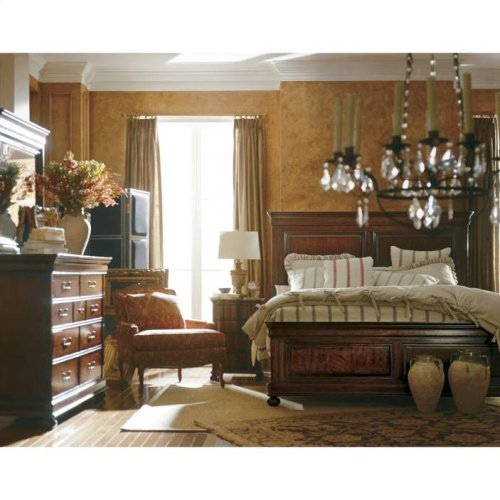 Louis Philippe Panel Bed - Orleans / Queen