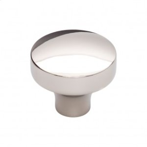 Kinney Knob 1 1/2 Inch - Polished Nickel