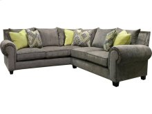 Del Mar Larado Sectional with Nails 6T00N-SECT