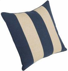 "Luxe Pillows Awning Stripe w/welt (23"" x 23"")"