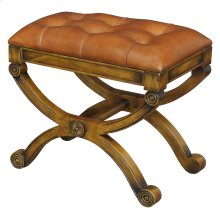 Empire Stool W/Leather