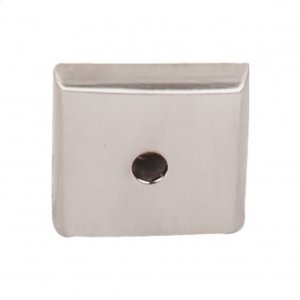 Aspen II Square Backplate 7/8 Inch - Brushed Satin Nickel