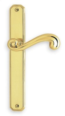 Traditional Narrow Plate Lever Latchset in (Traditional Narrow Plate Lever Latchset - Solid Brass)