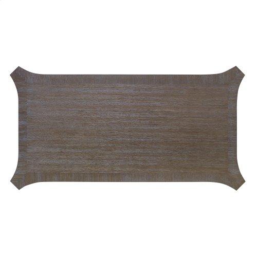 Chiseled Writing Desk - Driftwood