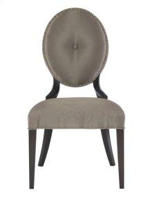 Jet Set Side Chair in Caviar (356)
