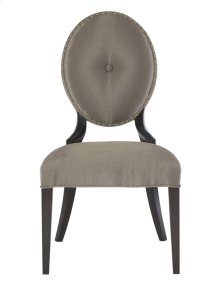Jet Set Side Chair in Caviar (356)