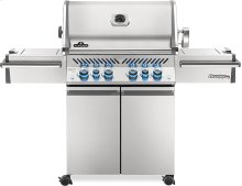 Prestige PRO 500 RSIB Infrared Rear & Side Burners Stainless Steel , Propane