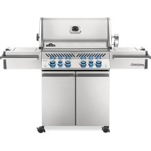 Prestige PRO 500 RSIB Infrared Rear & Side Burners , Stainless Steel , Propane