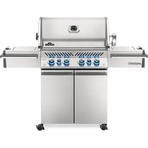 Napoleon BBQPrestige PRO 500 RSIB Infrared Rear & Side Burners , Stainless Steel , Natural Gas