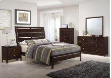 1017 Jackson Queen Bed with Dresser & Mirror