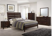 1017 Jackson King Bed with Dresser & Mirror