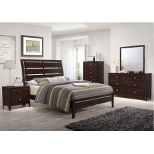 1017 Jackson Queen Bed with Dresser & Mirror