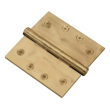 Square Corner Hinge - Antique Satin Bronze