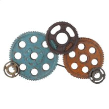 Gears Wall Decor Large