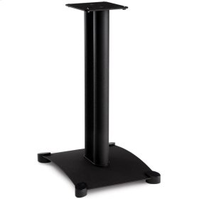 "22"" Steel Series Bookshelf Speaker Stand Pair"