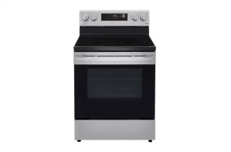 6.3 cu ft. Smart Wi-Fi Enabled Electric Range with EasyClean™