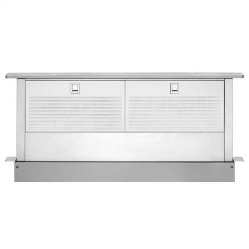 """30"""" Retractable Downdraft System with Interior Blower Motor - stainless steel"""