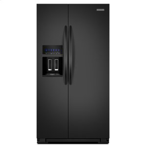 KitchenAidBlack KitchenAid® 23 Cu. Ft. Counter-Depth Side-by-Side Refrigerator, Architect® Series II