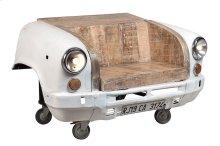 Highway Ambassador Car Bench - White, 3770