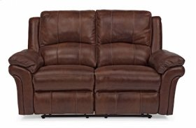 Dandrige Leather Power Reclining Love Seat