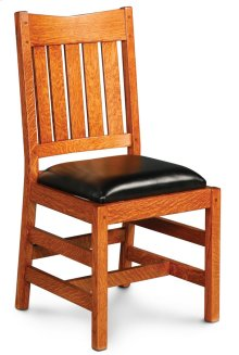 Grant II Side Chair, Fabric Cushion Seat